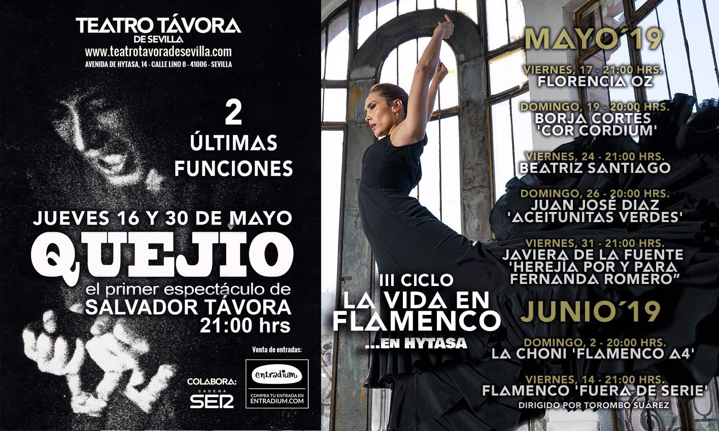 Programación Teatro Távora de Sevilla