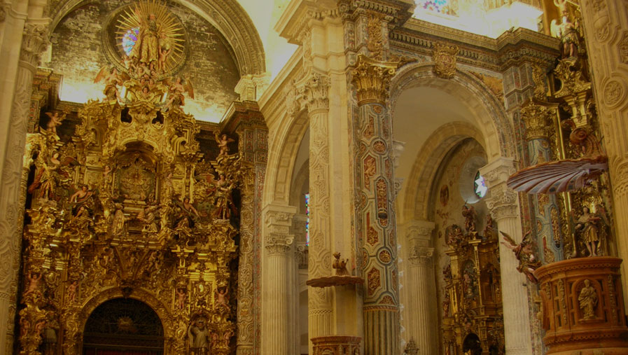 Iglesia del Salvador - interior