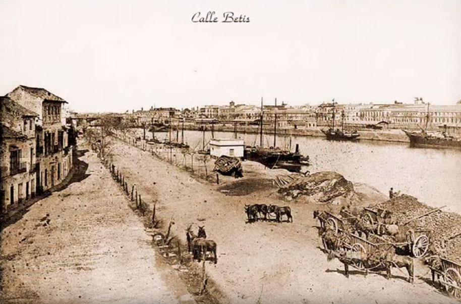Fotografía antigua Calle Betis